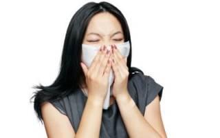 Сухой ринит симптом