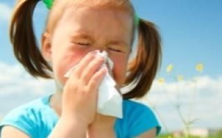 Аллергический ринит на лице
