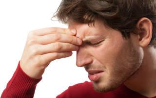 Симптомы гайморита верхних пазух