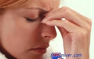 Шмыгать носом гайморит